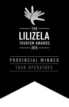 AHJ - awarded Best Provincial Tour Operator at the Lilizela awards 2015